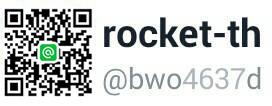 Rocket Wristband @LINE